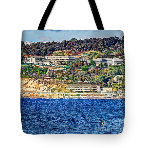 Scripps Institute Of Oceanography Tote Bag