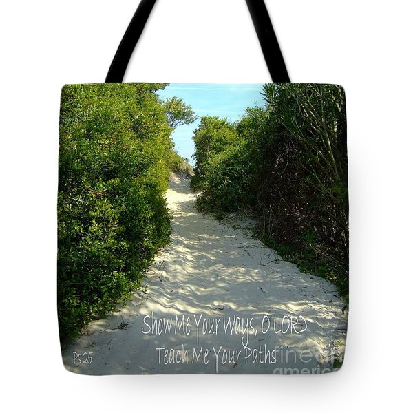 Tote Bag featuring the photograph Christian Greeting Card  by Bob Sample