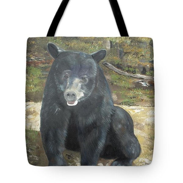 Scruffy Again Tote Bag by Jan Dappen