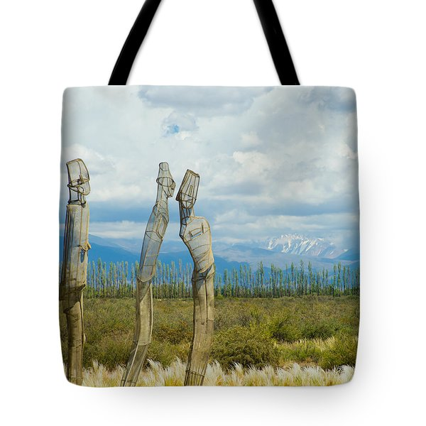 Sculpture In The Andes Tote Bag