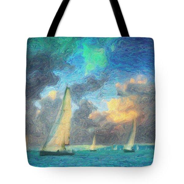Scylla Tote Bag by Taylan Apukovska