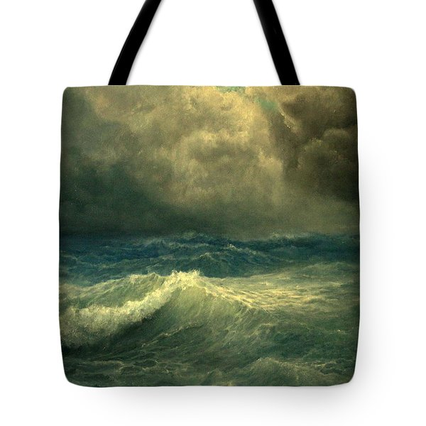 Sea And Sky Tote Bag by Mikhail Savchenko