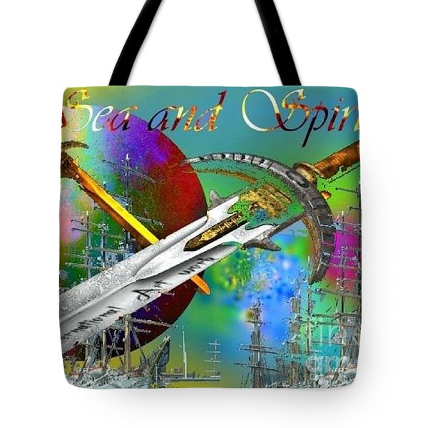 Sea And Spirit Tote Bag