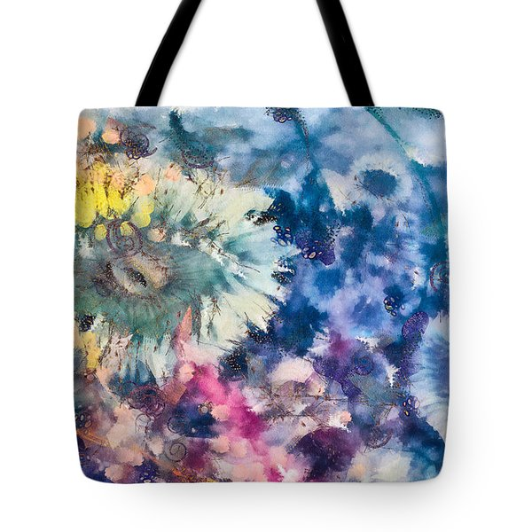 Sea Anemone Garden Tote Bag