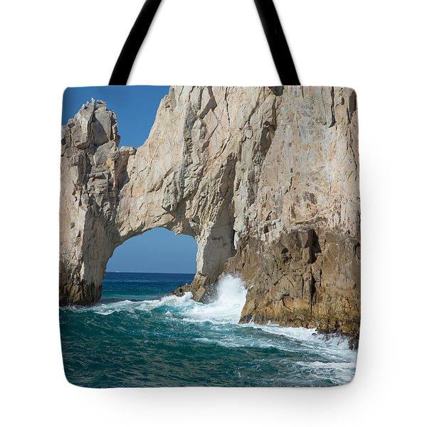 Sea Arch El Arco De Cabo San Lucas Tote Bag