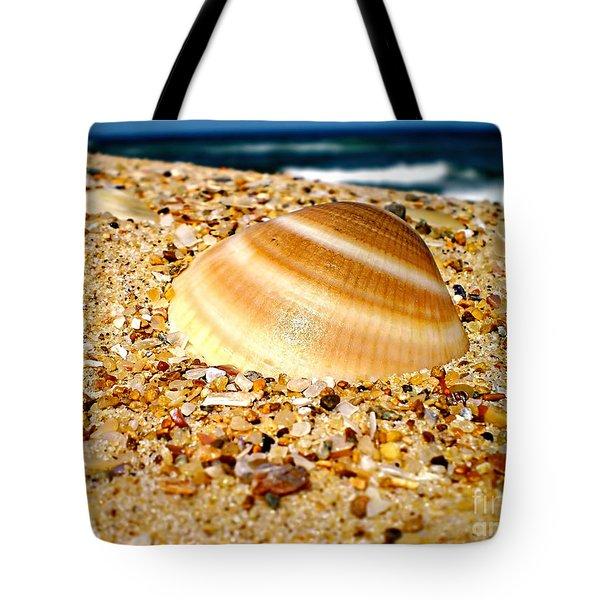 Sea Beyond The Shell Tote Bag