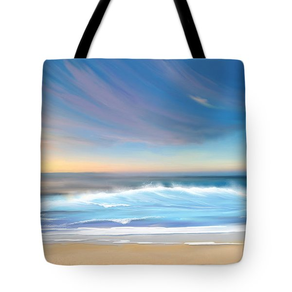 Sea Coast Escape Tote Bag