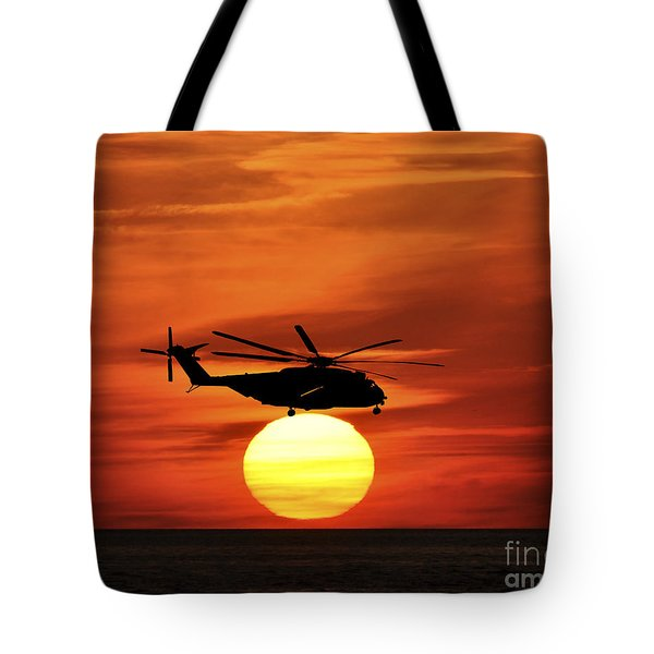 Sea Dragon Sunset Tote Bag