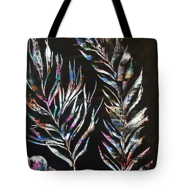 Sea Ferns Tote Bag