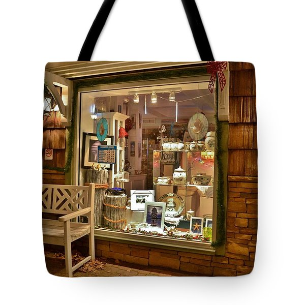 Sea Finds Side Window - Rehoboth Beach Delaware Tote Bag
