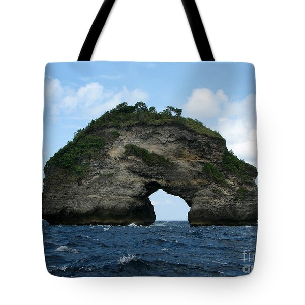 Tote Bag featuring the photograph Sea Gate by Sergey Lukashin