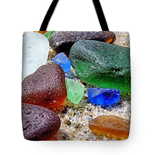 Sea Glass Collection Tote Bag