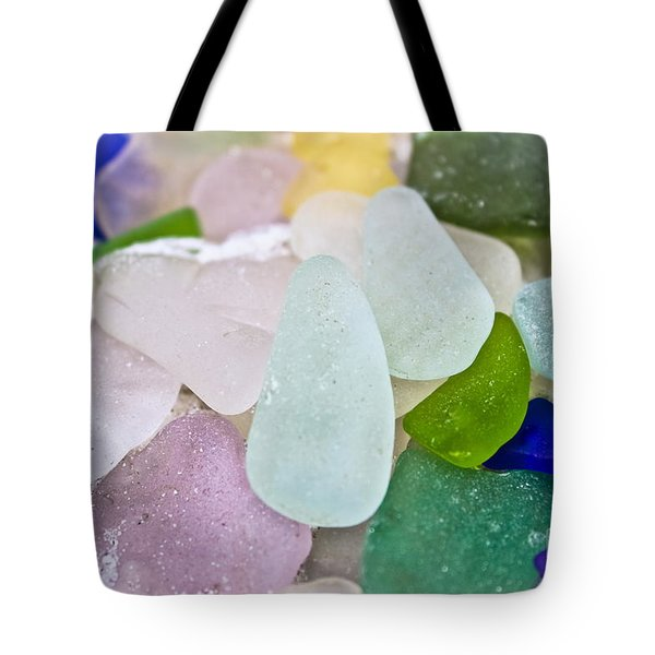 Sea Glass Tote Bag by Colleen Kammerer
