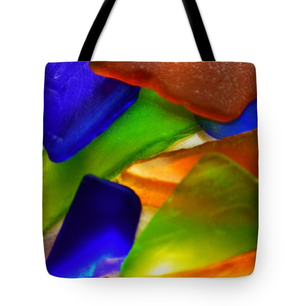 Sea Glass II Tote Bag by Sherry Allen