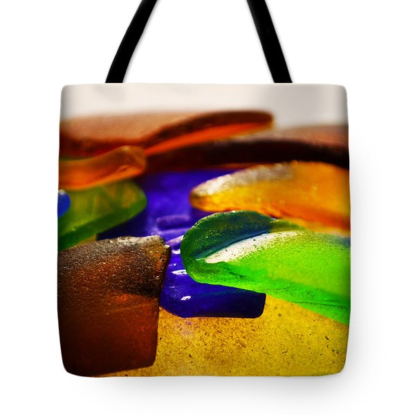 Sea Glass IIi Tote Bag by Sherry Allen