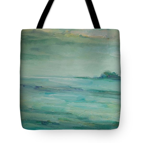 Sea Glass Tote Bag by Mary Wolf