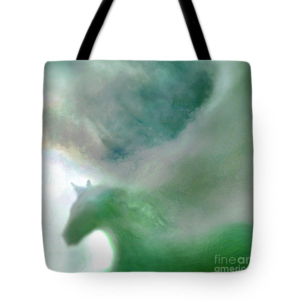 Tote Bag featuring the photograph Sea Glass Storm by Michael Rock