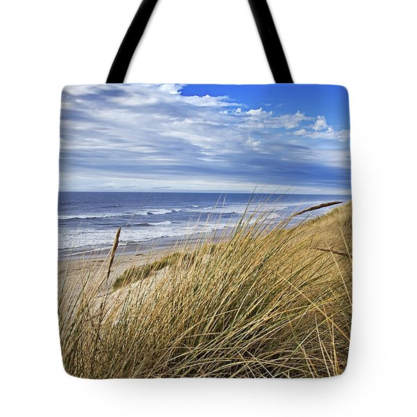 Sea Grass And Sand Dunes Tote Bag