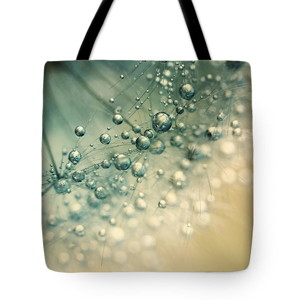 Sea Green Sparkles Tote Bag