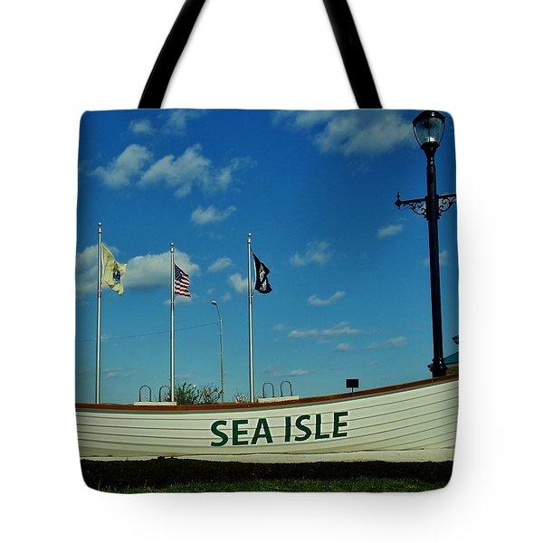 Sea Isle City Tote Bag by Ed Sweeney