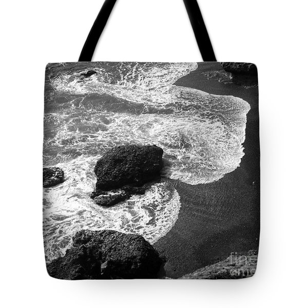 Tote Bag featuring the photograph Sea Lion Cove by James B Toy