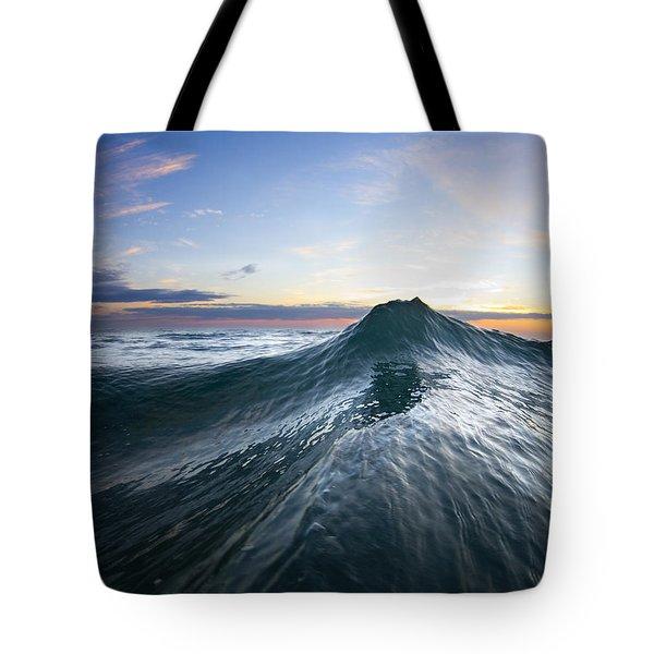 Sea Mountain Tote Bag