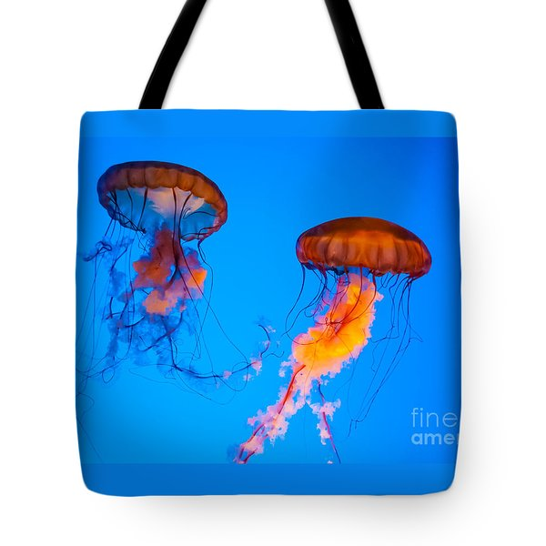 Sea Nettles Tote Bag