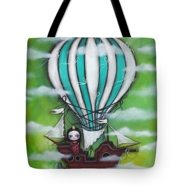 Sea Of Clouds Tote Bag by Abril Andrade Griffith
