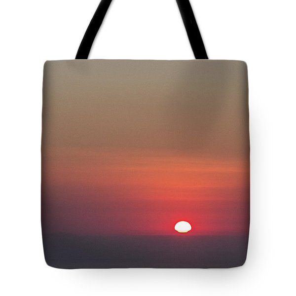 Sea Of Clouds Sunset Tote Bag