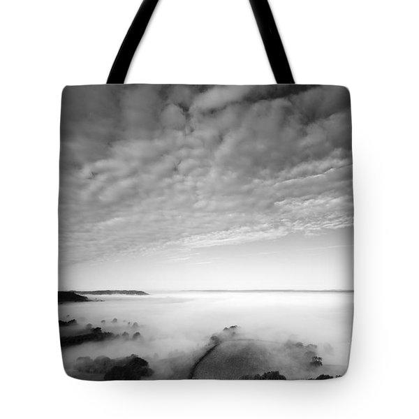 Sea Of Fog Tote Bag by Anne Gilbert