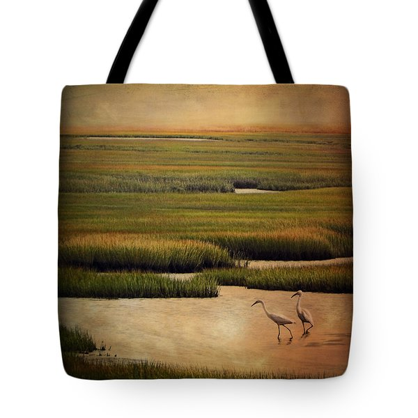 Sea Of Grass Tote Bag by Lianne Schneider
