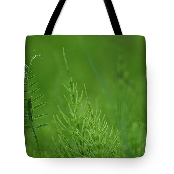 Tote Bag featuring the photograph Sea Of Green by Bianca Nadeau