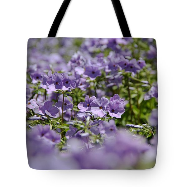 Sea Of Purple Tote Bag