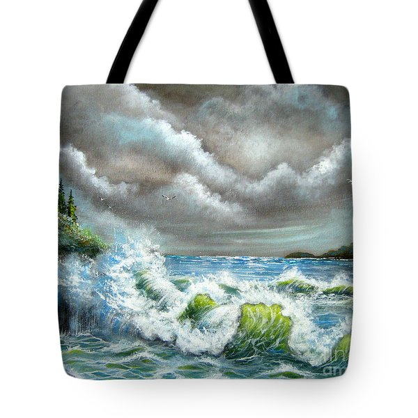 Sea Of Smiling Faces Tote Bag