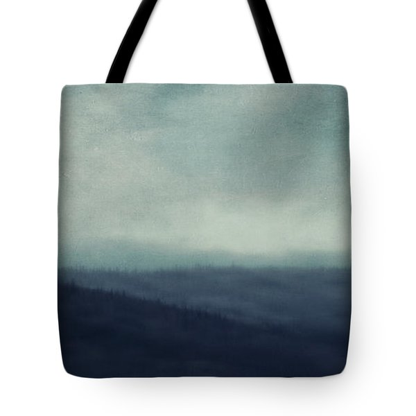 Sea Of Trees And Hills Tote Bag