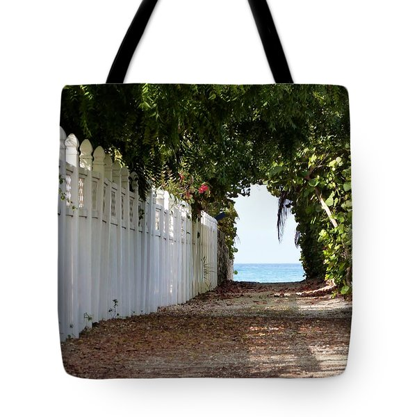 Passage To Sea Tote Bag