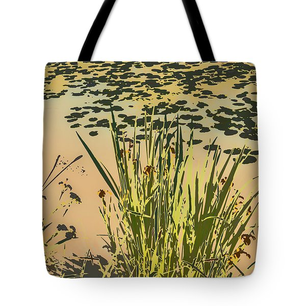Tote Bag featuring the photograph Sea Plants Abstract by Leif Sohlman