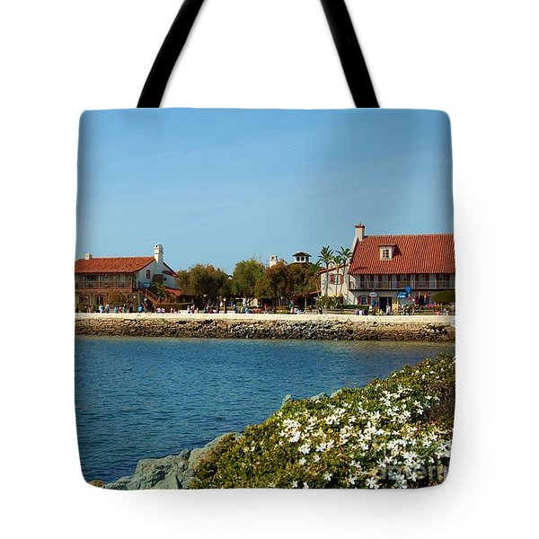 Tote Bag featuring the photograph Sea Port Village San Diego by Jasna Gopic
