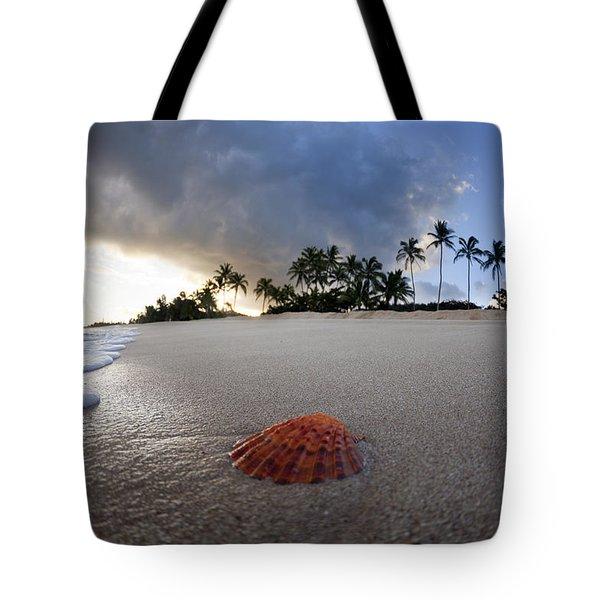 Sea Shell Sunrise Tote Bag