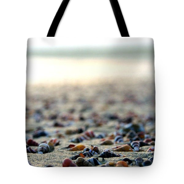 Sea Shells By The Sea Shore Tote Bag by Kaleidoscopik Photography