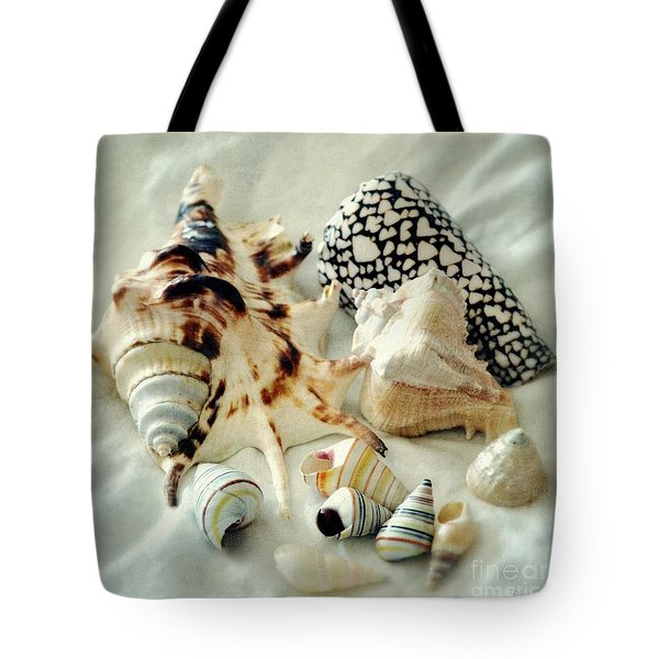 Sea Shells- Colorful Collection Tote Bag by Darla Wood