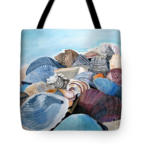 Sea Shells Tote Bag by Sandy McIntire
