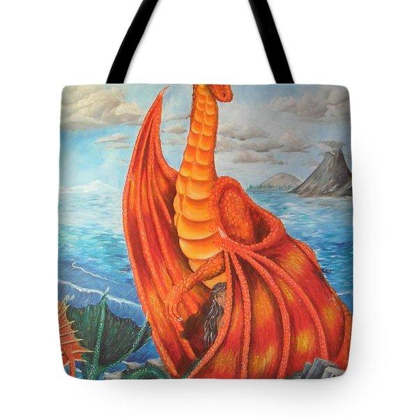 Sea Shore Pair Tote Bag