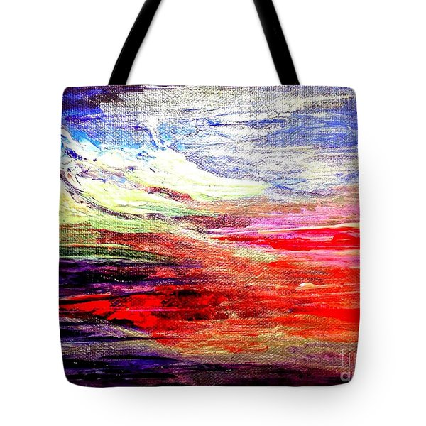 Sea Sky I Tote Bag