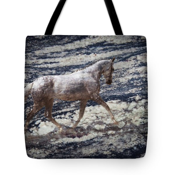 Sea Stallion Tote Bag