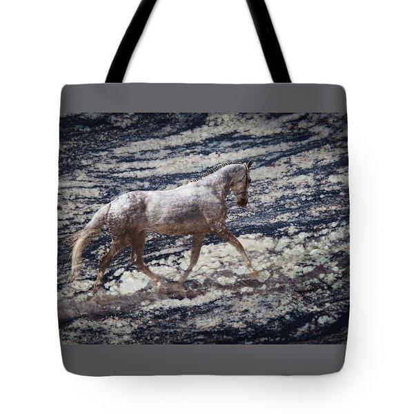 Sea Stallion Tote Bag