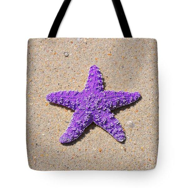 Sea Star - Purple Tote Bag by Al Powell Photography USA
