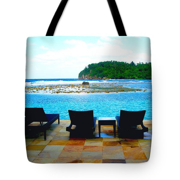 Sea Star Villa Tote Bag