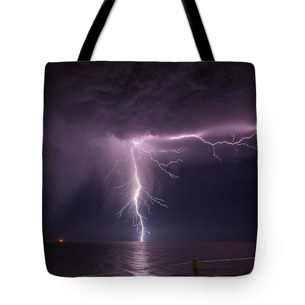 Sea Strike Tote Bag