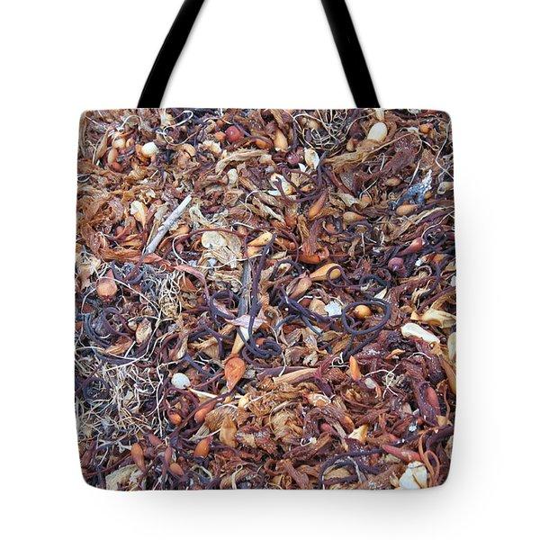Sea Stuff Tote Bag by Bev Conover